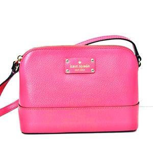 Kate Spade Wellesley Hanna Crossbody Leather Bag